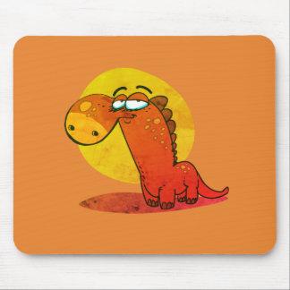 Tapis De Souris bande dessinée drôle d'enfant mignon de Dino