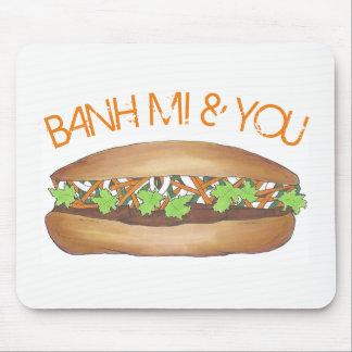 Tapis De Souris Banh MI et vous fin gourmet vietnamien de