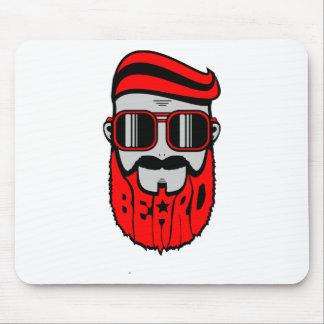 Tapis De Souris barbe rouge