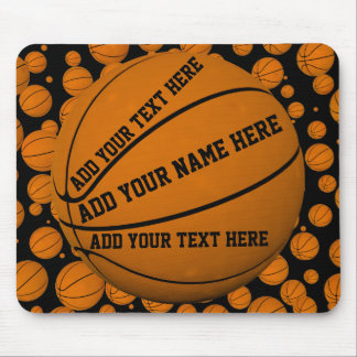 Tapis De Souris Basket-balls Mousepad