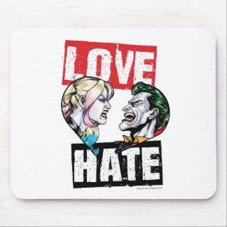 Tapis De Souris Batman   Harley Quinn et amour de joker/haine