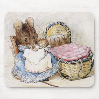 Tapis De Souris Beatrix Potter, Hunca Munca, souris de mère