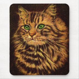Tapis De Souris beau chat tigré aux cheveux longs