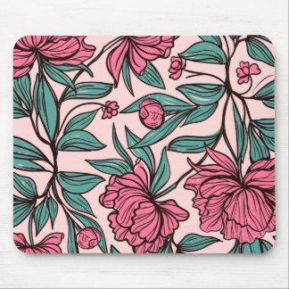 Tapis De Souris Beau | floral rose tiré par la main Mousepad