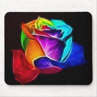 Tapis De Souris Beau rose de couleurs 5