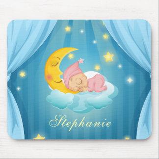Tapis De Souris Bébé de sommeil mignon personnalisé   Mousepad