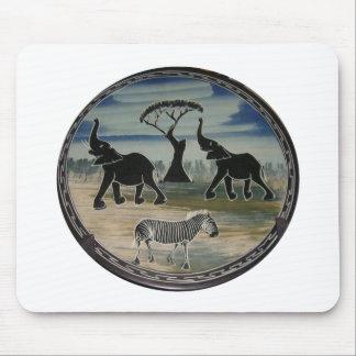 Tapis De Souris Belle faune élégante de l'Afrique Kenya