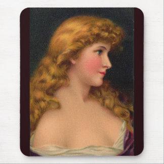 Tapis De Souris Belle femme du 19ème siècle