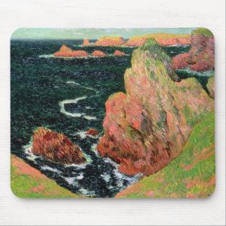 Tapis De Souris Belle Ile de Claude Monet  