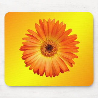Tapis De Souris Belle marguerite orange et jaune de Gerbera