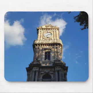 Tapis De Souris Belle tour d'horloge au carré de Dolmabahce