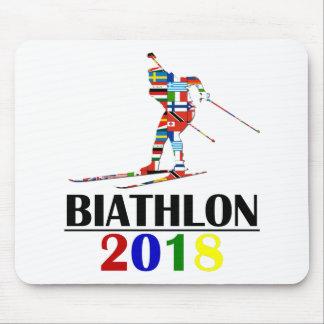 TAPIS DE SOURIS BIATHLON 2018