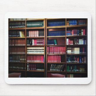Tapis De Souris Bibliothèque