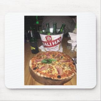 Tapis De Souris Bière et pizza de Bali