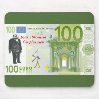 """tapis-de-souris """"billet 100 euros"""" tapis de souris"""