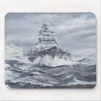 Tapis De Souris Bismarck outre de la côte 1900hrs 23rdMay du