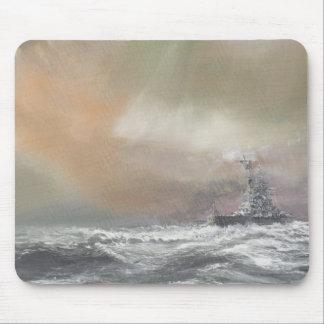 Tapis De Souris Bismarck signale Prinz Eugen 0959hrs le 24 mai