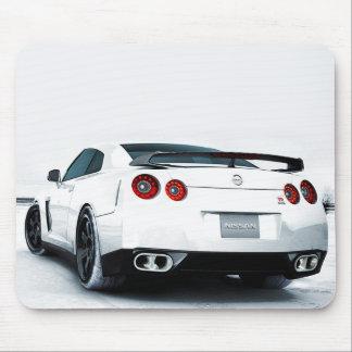 Tapis De Souris Blanc de Nissan GT-R