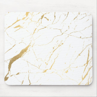 tapis de souris marbre blanc personnalis s. Black Bedroom Furniture Sets. Home Design Ideas