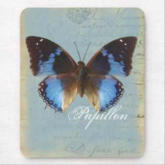 Tapis De Souris Bleu de Papillon