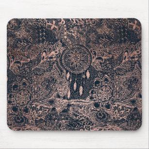 tapis de souris motif plumes. Black Bedroom Furniture Sets. Home Design Ideas