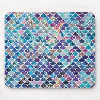 Tapis De Souris Bleus Mousepad de sirène