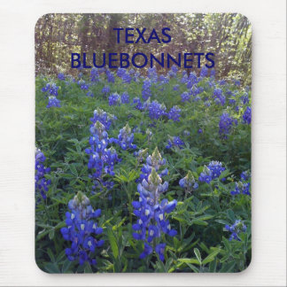 TAPIS DE SOURIS BLUEBONNETS DE TEXAS