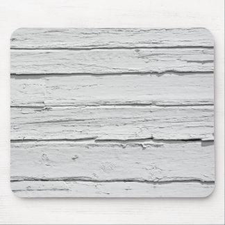 Tapis De Souris Bois patiné blanc