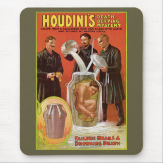 Tapis De Souris Boîte de lait de Houdini