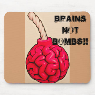 Tapis De Souris Bombes de cerveaux pas