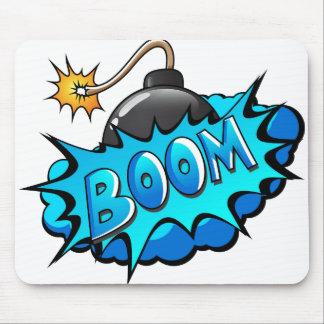 Tapis De Souris Boom comique de bombe de style d'art de bruit !
