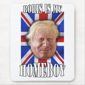 """Tapis De Souris Boris Johnson, """"Boris est maire de mon homeboy"""""""