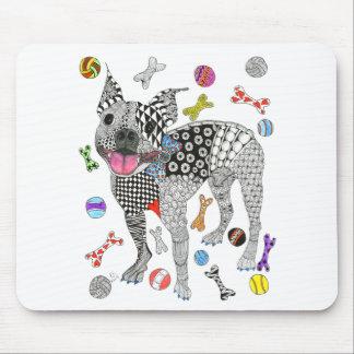 Tapis De Souris Boston Terrier Mousepad