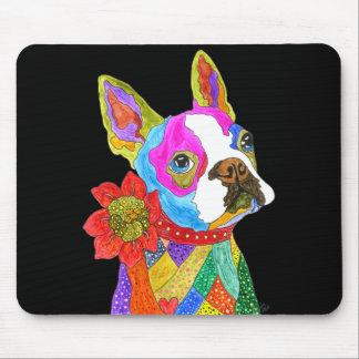 Tapis De Souris Boston Terrier Mousepad (vous pouvez customiser)