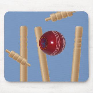 Tapis De Souris Boule et tronçons de cricket,