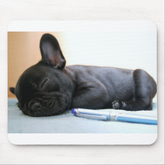 Tapis De Souris bouledogue français puppy.png
