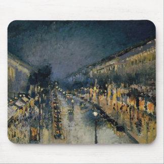 Tapis De Souris Boulevarde Montmartre au ~ Camille Pissarro de