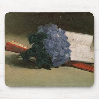 Tapis De Souris Bouquet de Manet | des violettes, 1872