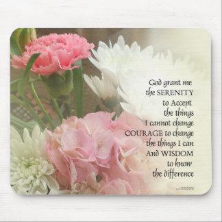 Tapis De Souris Bouquet de prière de sérénité