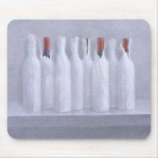 Tapis De Souris Bouteilles enveloppées sur le gris 2005