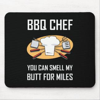 Tapis De Souris Bouts d'odeur de chef de BBQ