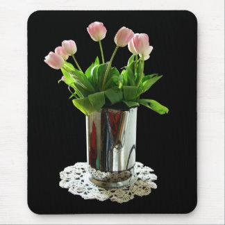 Tapis De Souris Broc de tulipes roses