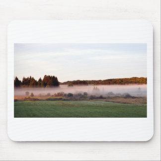 Tapis De Souris Brouillard d'île de matin