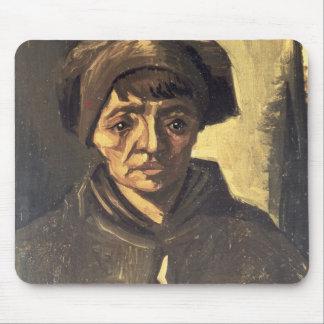 Tapis De Souris Buste de Vincent van Gogh | d'un paysan, 1884