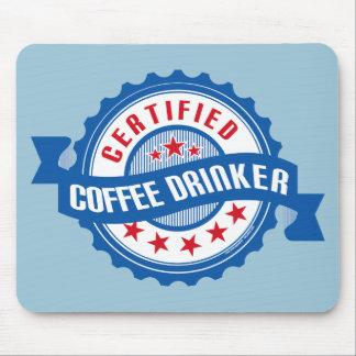 Tapis De Souris Buveur certifié de café