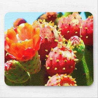 Tapis De Souris Cactus de floraison par Amy Vangsgard