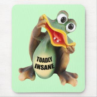 Tapis De Souris Cadeaux aliénés drôles de T-shirts de Toadally