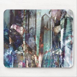 Tapis De Souris Cadeaux cristallins du résumé 2