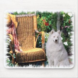 Tapis De Souris Cadeaux d'art de Samoyed