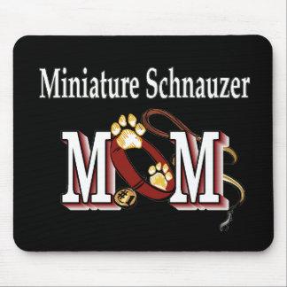 Tapis De Souris Cadeaux de MAMAN de Schnauzer miniature